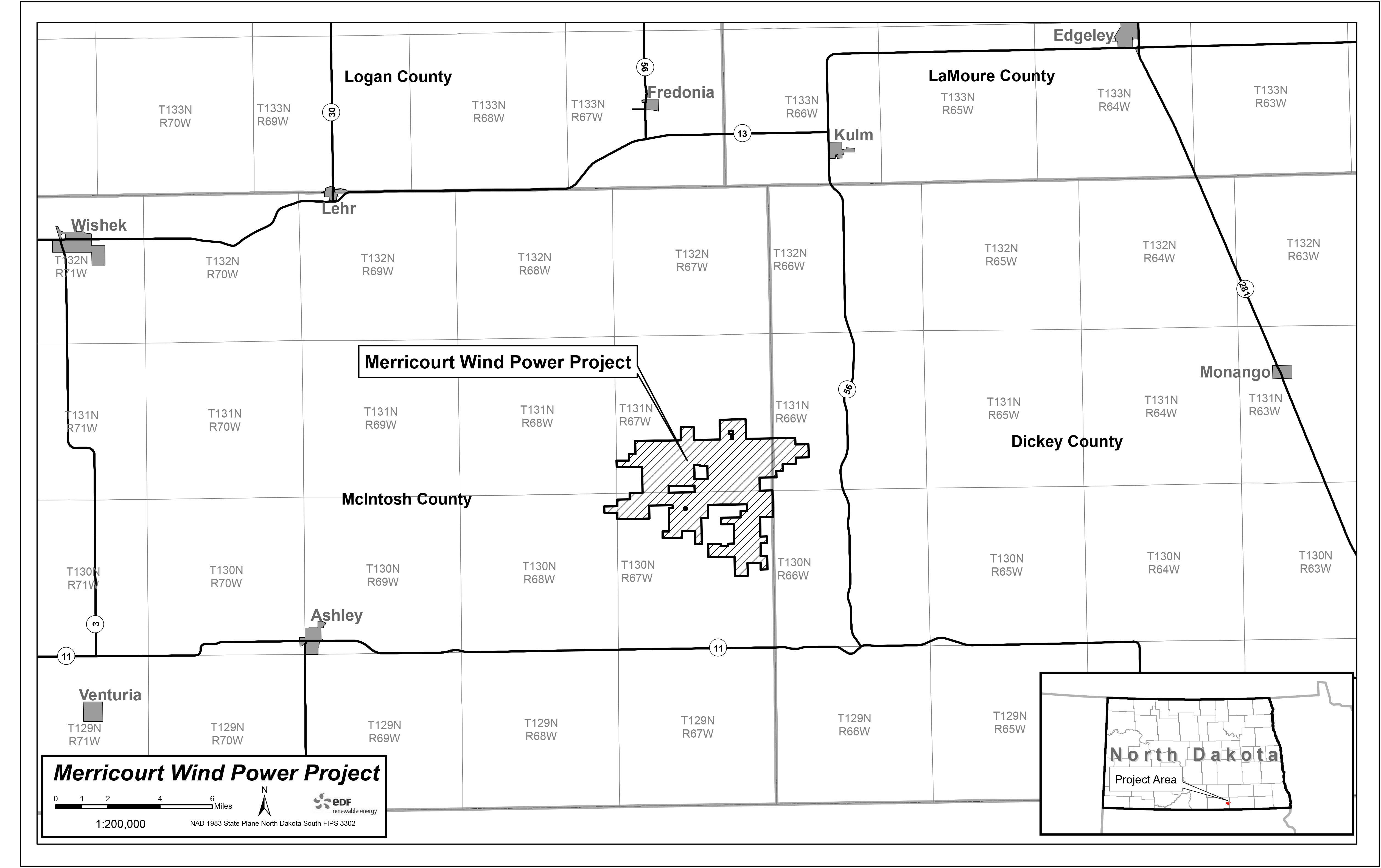 North dakota logan county fredonia - The North Dakota Public Service Commission Will Hold A Public Hearing Next Week In Ashley Regarding A Proposal To Amend The Permit For The Merricourt Wind